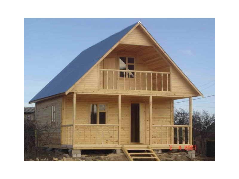Строим дома и бани, быстро и качественно, из профилированного бруса