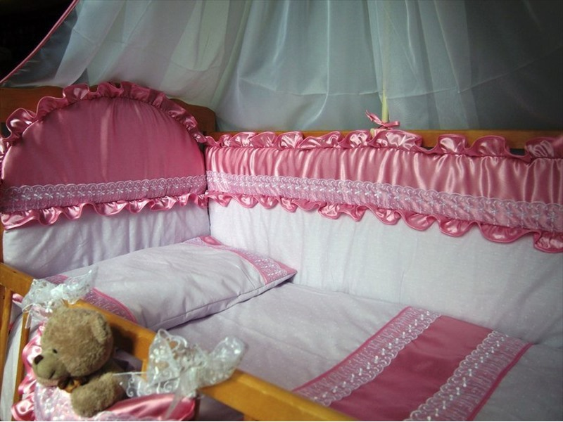 Постельное белье своими руками для детской кроватки