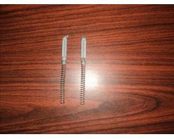 Пружины механизма складывания с планками натяжения  для  прогулочной коляски Graco, цена за 1 штуку 150 руб, цена за пару 300 руб